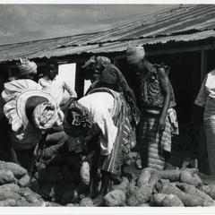 Ilesa yam sellers