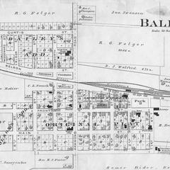 Plat Map of Baldwin, Wisconsin