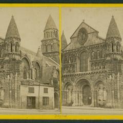 Poitiers : portail de l'Eglise Notre-Dame