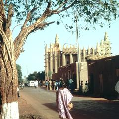 Mopti Street Leading to the Main Mosque