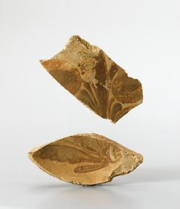 Dish fragments (bisque)