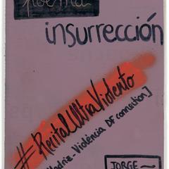 Poema_insurrección : #RecitalUltraViolento : [Madriz-Violència DF connection]