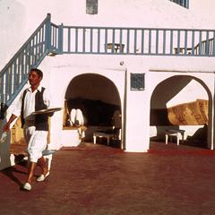Sidewalk Cafe in Sidi-Bou-Said