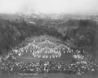 May Fete on Bascom Hill