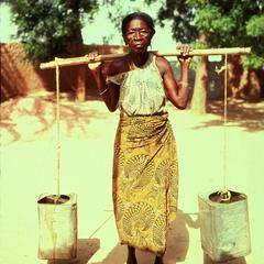 Hausa Woman Water Carrier
