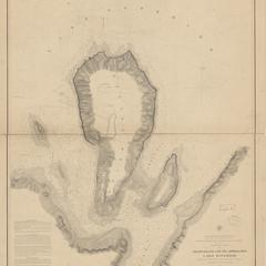 Preliminary chart of Grand Island and its approaches, Lake Superior