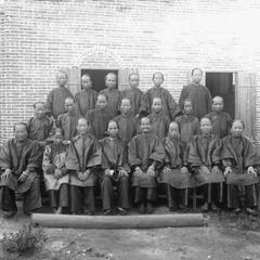 Female members of Yeungkong 陽江 church.