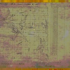 [Public Land Survey System map: Wisconsin Township 34 North, Range 09 West]