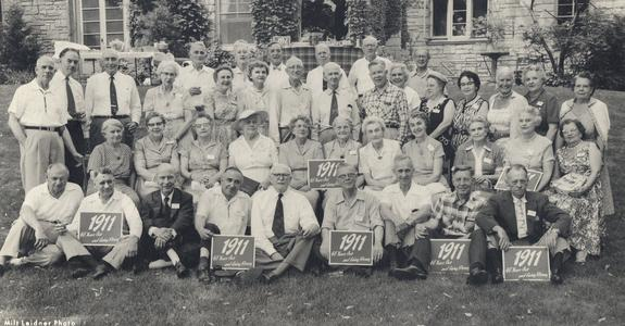 Class of 1911-45th reunion