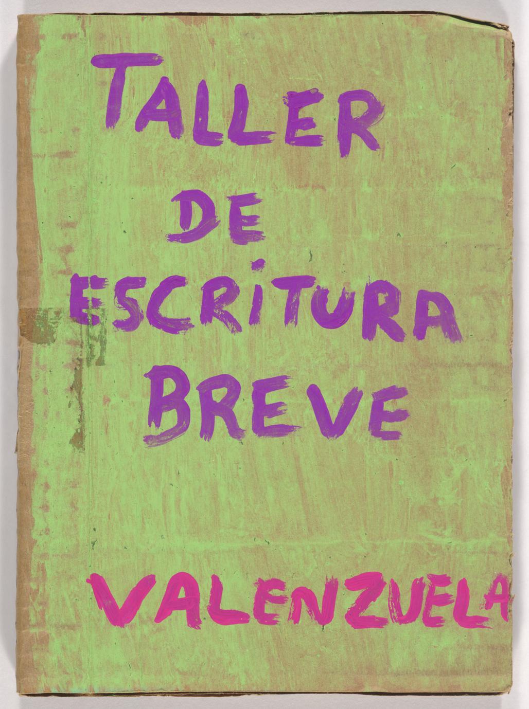 Taller de escritura breve (1 of 3)