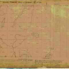[Public Land Survey System map: Wisconsin Township 40 North, Range 15 East]