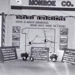 Monroe County display at State Fair
