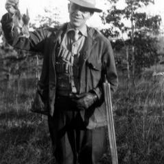 Hunting quail, near Pascagoula, Mississippi, December 1928