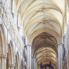 Beverley Minster nave looking east