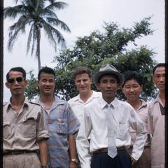 Nam Bak trip with officials