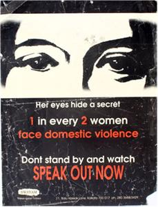 Speak out now--don't stand by and watch