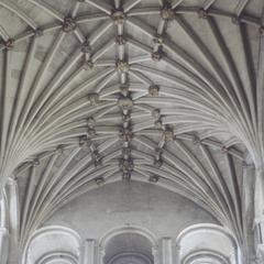 Norwich Cathedral transept vaulting and clerestory