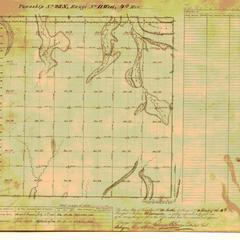 [Public Land Survey System map: Wisconsin Township 25 North, Range 11 West]