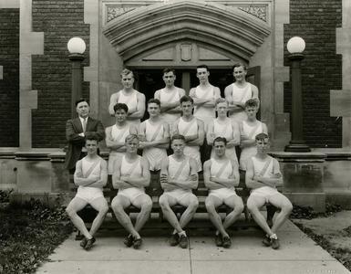 Men's track team