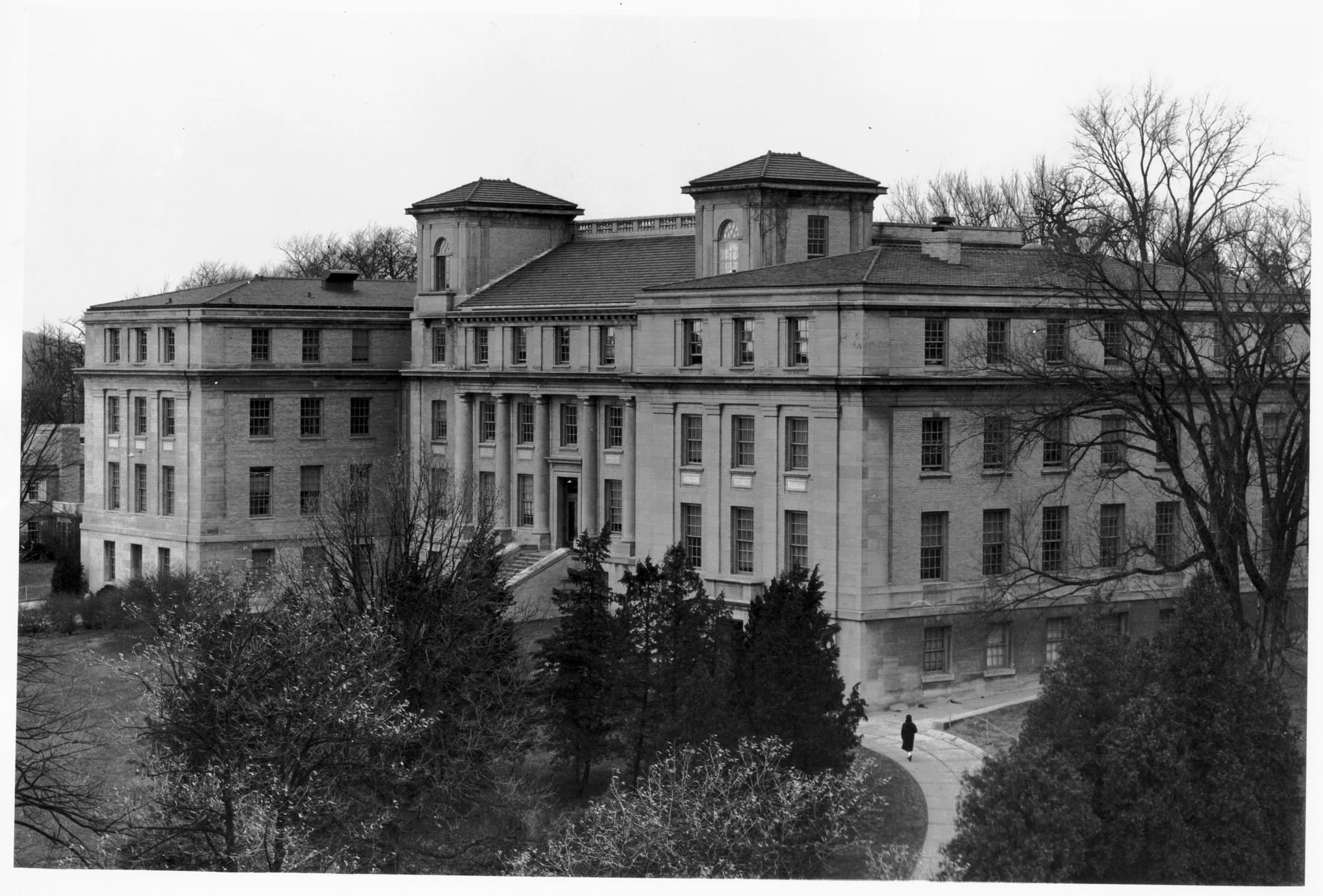 Home economics building