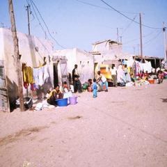 Activities of Everyday Life on a Street in the Fisherman's Village