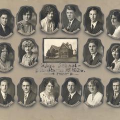 1929 New Glarus High School graduating class