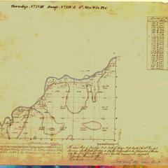 [Public Land Survey System map: Wisconsin Township 18 North, Range 14 East]