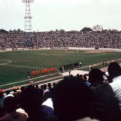 Crowd at Stadium Kinshasa for Football (Soccer) Match