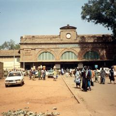 Central Train Station in Bamako