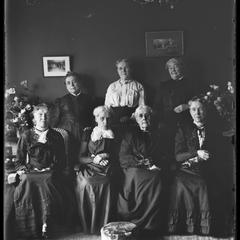 Mrs. Wells - group of old ladies