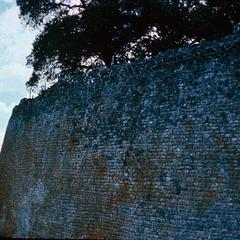 Wall of the Temple at Great Zimbabwe