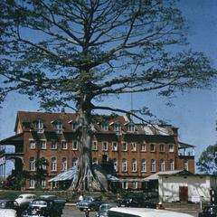 An Early Building of Fourah Bay College, Freetown