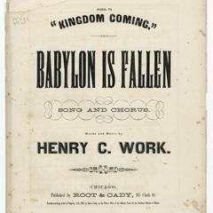 Babylon is fallen