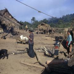 Lahu refugee village
