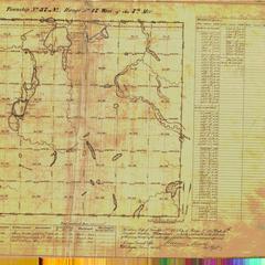 [Public Land Survey System map: Wisconsin Township 37 North, Range 17 West]