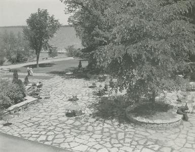 Flagstones on Terrace