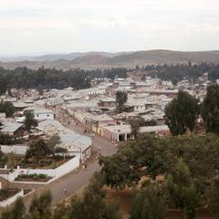 View of Addis Ababa in the 1950s