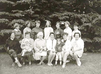 1968 first camp - women and faculty wives