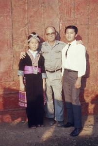 American personnel and Hmong wedding