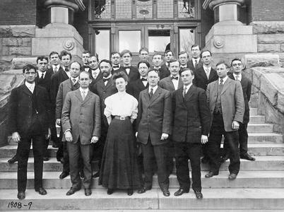 Physics Department 1908-1909