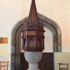 Launceston St Mary Magdalene baptismal font