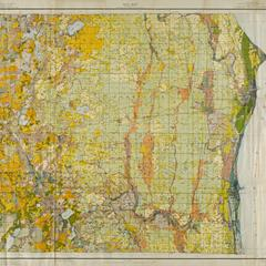Kenosha and Racine Counties Soil Sheet Map, 1919