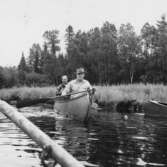 Ernest F. Swift and Leonard Urquhart canoe trip