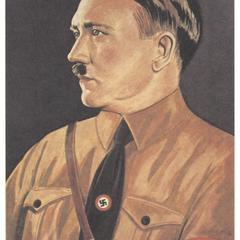 [Adolf Hitler in brown shirt uniform]
