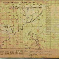 [Public Land Survey System map: Wisconsin Township 40 North, Range 11 West]