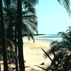 Beach at Kabrousse in Casamance