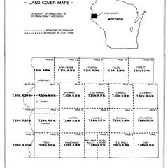 St. Croix County, Wisconsin, land cover maps