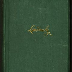 Landmarks and other poems