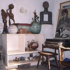 Art in Folarin's house
