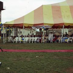 Beginning of the coronation of Oba Oladele Olashore